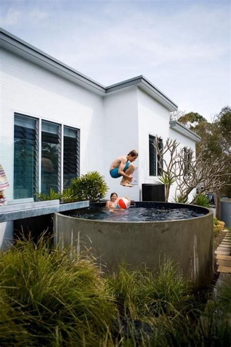 18 Beautiful Plunge Pools For Tiny Backyard Decorazilla Backyard Plunge Pool