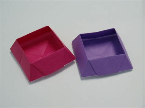 Origami Dish - dish origami box