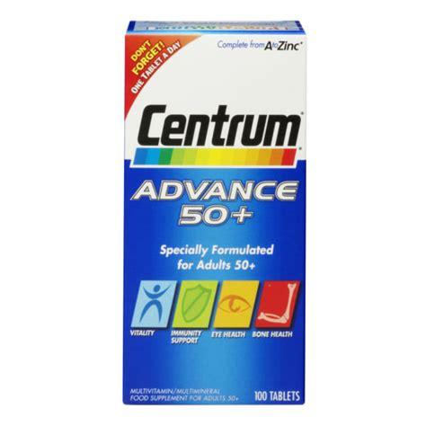 Centrum Advance 100tab centrum advance 50 plus 100 tablets free delivery