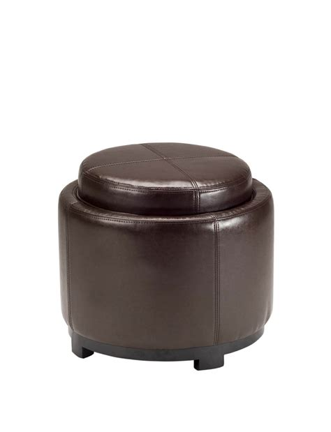 black leather ottoman with tray small storage ottoman with tray great full size of coffe