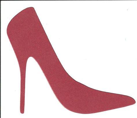 high heel shoe template craft high heel template search quilt ideas