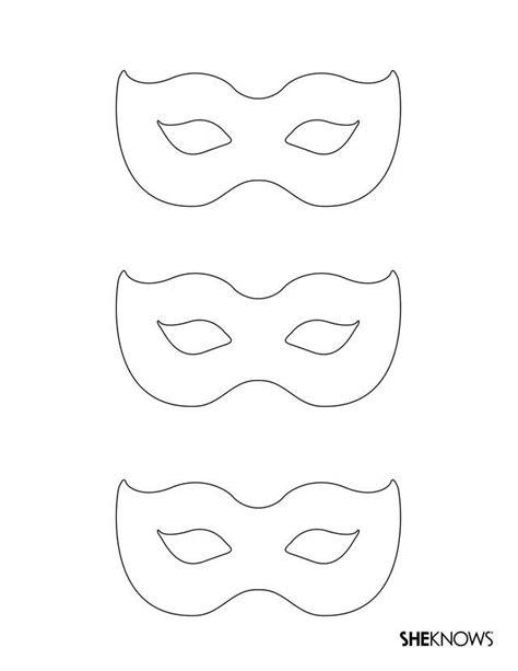 masquerade mask template maschere carnevale  sagome