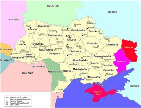 ua map map of ukraine ukraine maps mapsof net