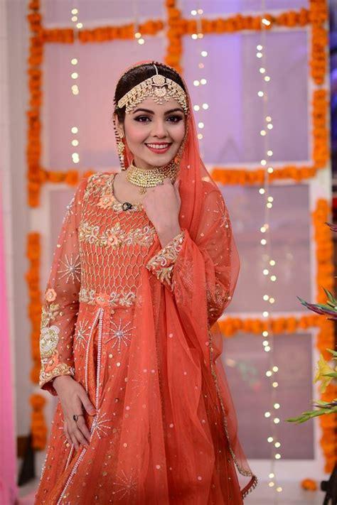 actress esha noor wedding  nida yasir morning show pakistani drama celebrities