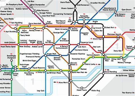 underground station map magazine tech