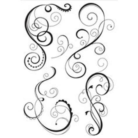 swirl rubber st marianne design clear sts swirls cs0893
