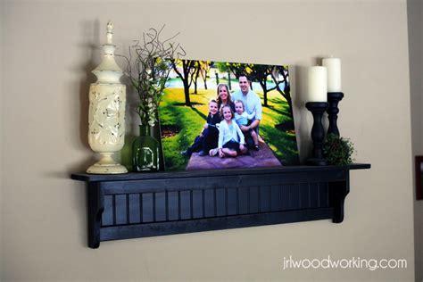 ana white  foot beadboard wall shelf diy projects