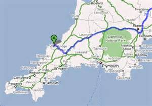 directions to rock, cornwall
