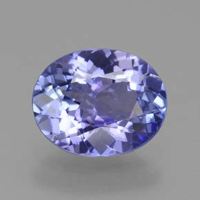 Blue Sapphire Safir 6 55ct blue tanzanite 1 6 carat oval from tanzania gemstone