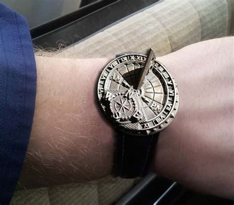 custom functioning sundial wristwatch tjt2 6