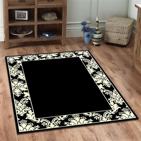 Black And White Oriental Rug Roselawnlutheran Black And White Modern Rug