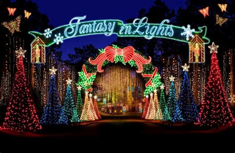 the most magical christmas lights road trip in georgia