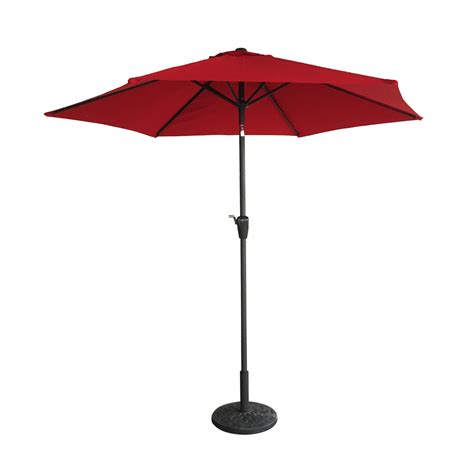 new 9 ft patio outdoor market sun aluminum umbrella