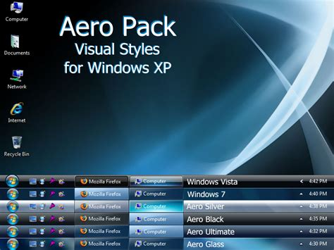 themes for windows 7 aero download aero pack visual style theme for windows7