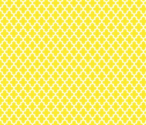 Yellow Moroccan Pattern | yellow moroccan sweetzoeshop spoonflower