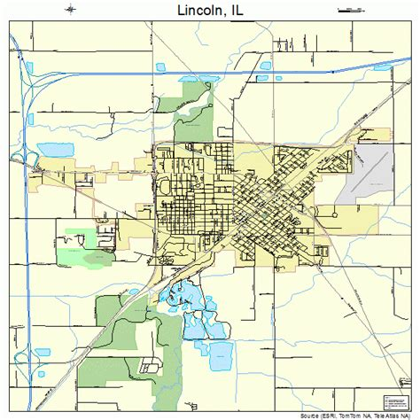 lincoln illinois map 1743536