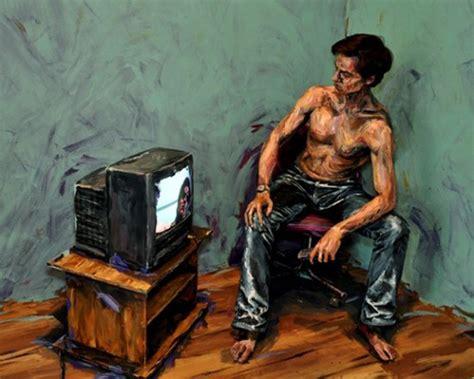 people painting people transformed into paintings by alexa meade enpundit
