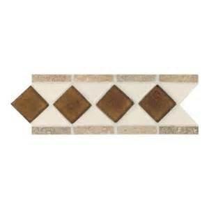 home depot decorative tile daltile fashion accents almond 4 in x 11 in glass and