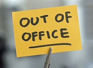 Out Of Office Sign by Out Of Office Messages So Clever No One Will Miss You