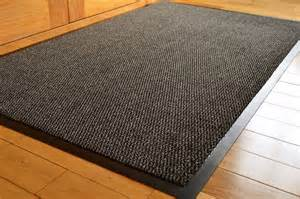 large rubber edged kitchen entrance mat