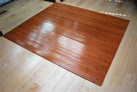 Bamboo Desk Chair Floor Mat by Desk Floor Mat For Carpet Advantages And Types