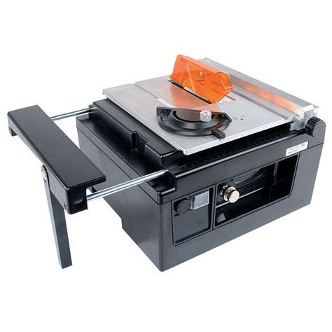 microlux 174 mini tilt arbor table saw for benchtop hobby use