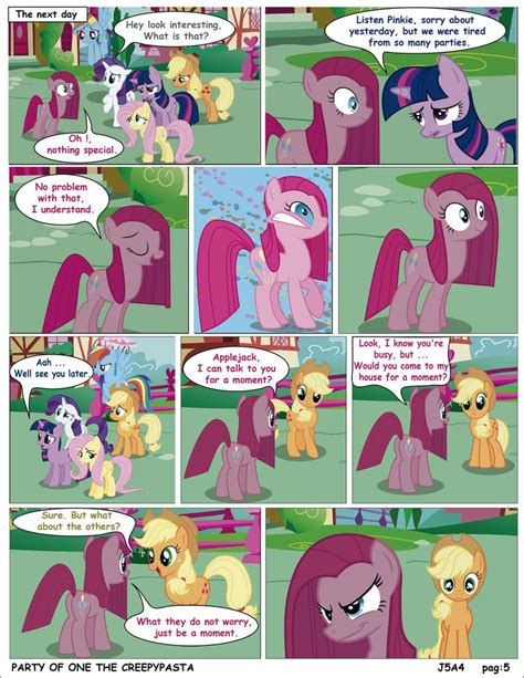 english party of one mlp creepypasta mlp party of one pag 5 creepypasta english by j5a4 on