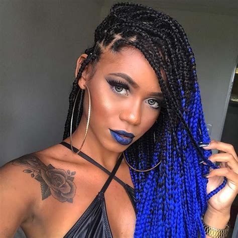 25 best black braided hairstyles to copy in 2018