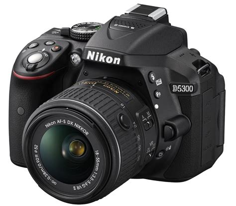 Kamera Nikon D5500 Kit Lens 18 55mm Vr camara nikon d5300 24 2 mp kit 18 55mm f 3 5 5 6g vr ii gps 10 999 00 en mercadolibre
