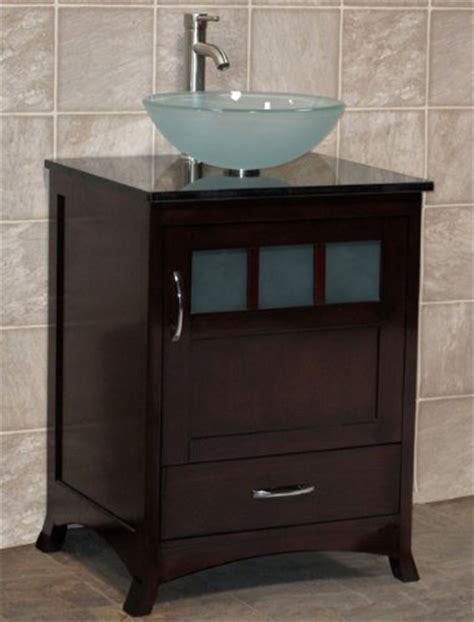Solid Wood Bathroom Vanities Without Tops by 24 Bathroom Vanity Solid Wood Cabinet Top Vessel