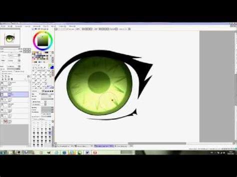 paint tool sai error log paint tool sai how to paint an awesome eye popscreen