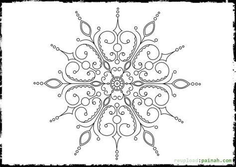 intricate snowflake coloring page 125 best abstract coloring pages images on pinterest