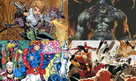 film marvel dc 10 non marvel or dc comics from the 1990s that need film