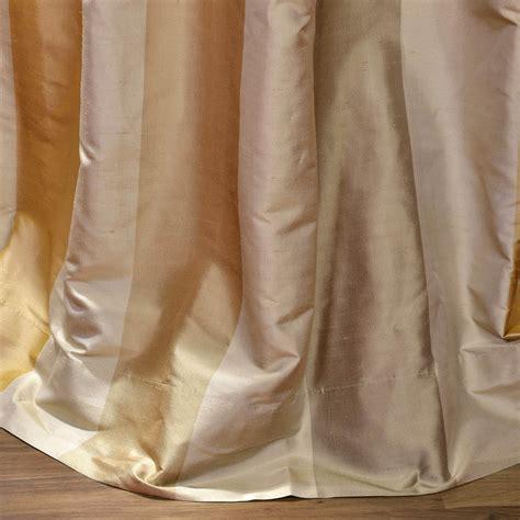 silk stripe drapes buy palm springs silk stripe curtains drapes