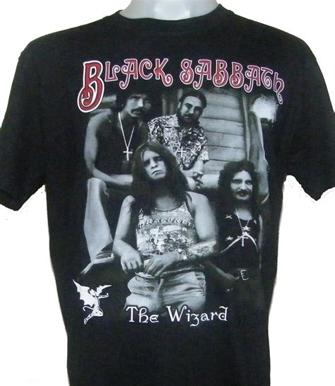 Tshirt Black Sabbath Hitam Dealdo Merch black sabbath t shirt the wizard size l roxxbkk