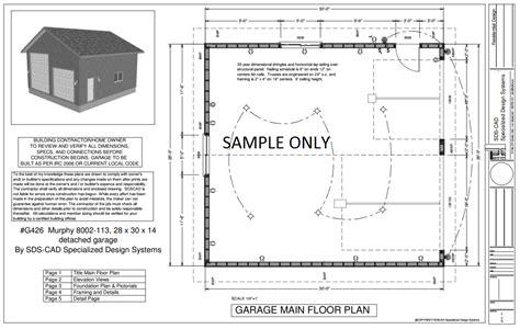 Rv Shop Plans by Rv Garage Plan Sds Plans