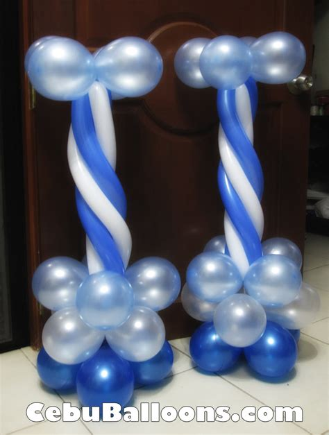 Christening Stage Decoration by Christening Boy Cebu Balloons And Supplies