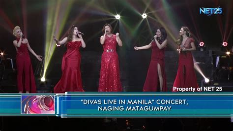 diva concert quot divas live in manila quot concert naging matagumpay