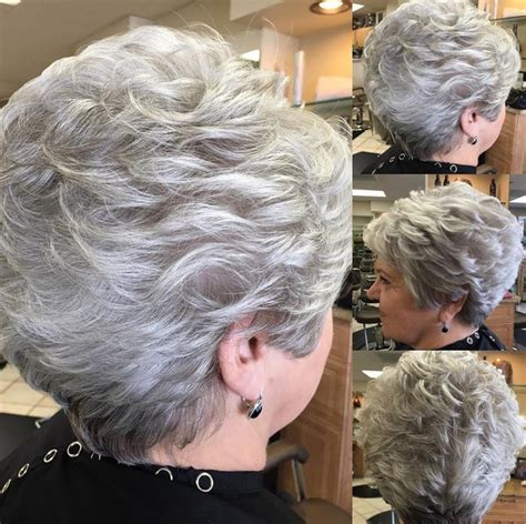 Short Stacked Hairstyles For Women 60 | search results for over 60 grey hair styles black