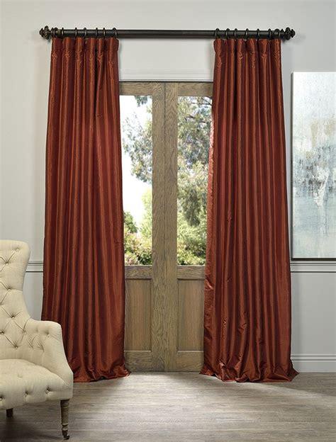 burnt orange curtains ideas  pinterest blue