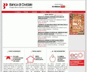 www banco di sicilia it civibank it banca di cividale s p a