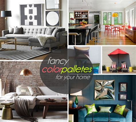 color palette home decor three stunning color palettes for your interior