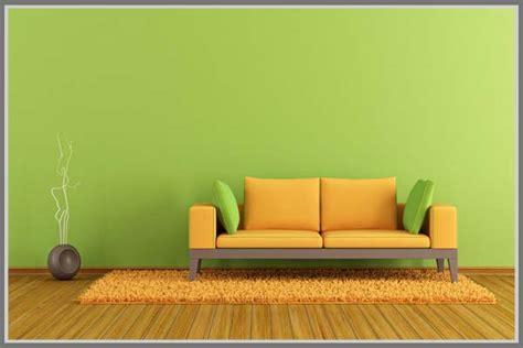 Sofa Warna Hijau paduan warna cat rumah minimalis