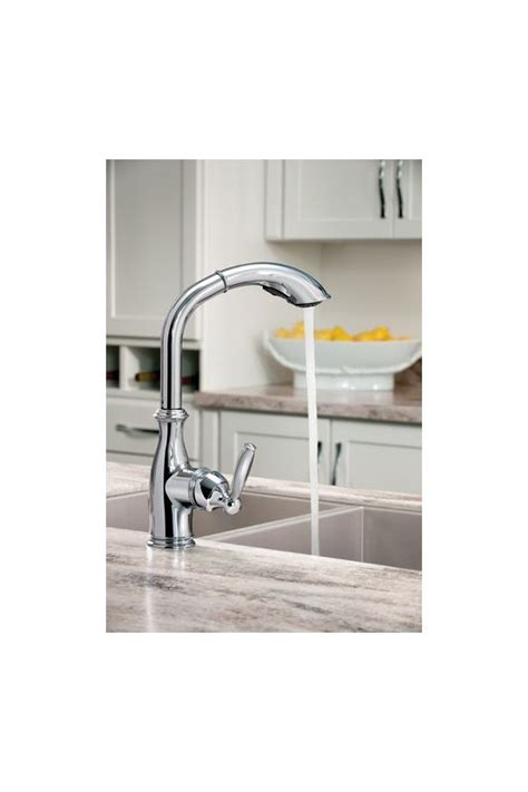 moen 7285 brantford single handle high arc kitchen faucet with multi function reflex pullout faucet com 7285c in chrome by moen