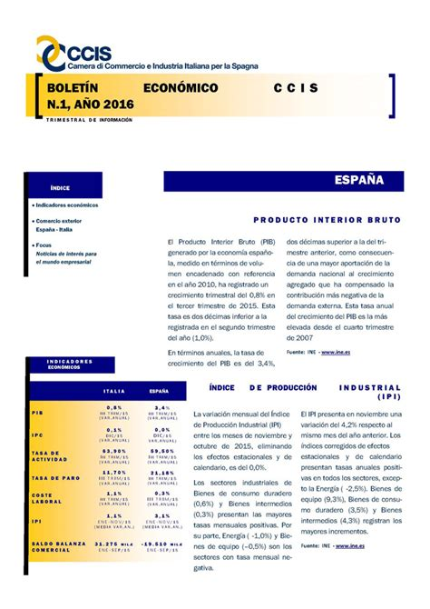 descargar en pdf la lif 2016 se publica la ley de enero 2016 camera di commercio e industria italiana