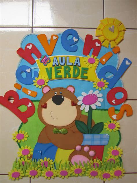goma eva decoracion infantil cartel para puerta ambientaci 243 n de aula jard 237 n de ni 241 os