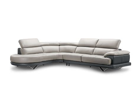 Creative Leather Furniture by Buy Cecile Leather Sectional Sofas By Creative Furniture