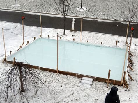 backyard rink liners backyard rink no liner outdoor furniture design and ideas