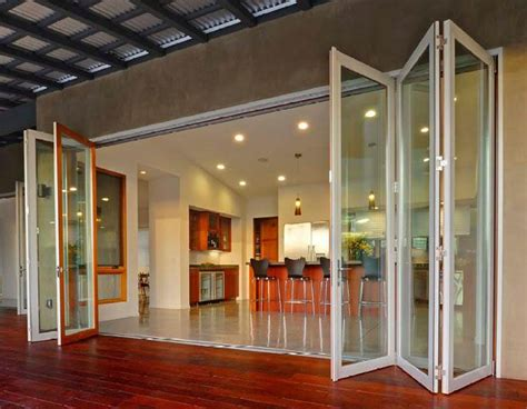 Glass Folding Doors Exterior La Cantina Folding Doors So Cool House