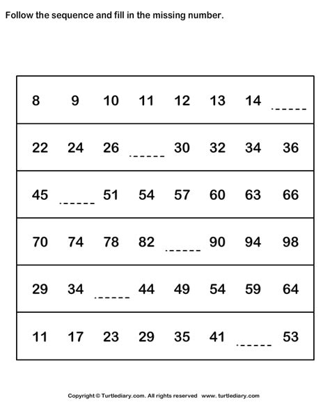Arithmetic Sequence Worksheet Algebra 1 by Pin Number Sequence Worksheet 1 Math Worksheets